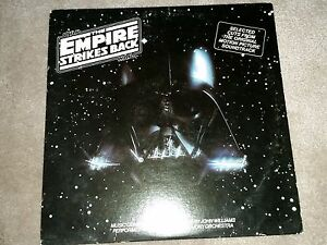 White Label Promo Copy RARE! The Empire Strikes Back Soundtrack LP, Star Wars