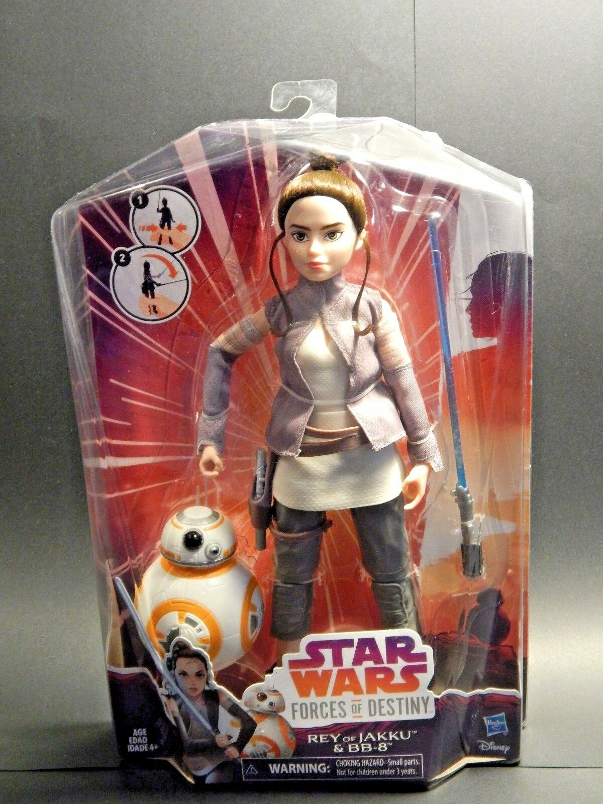 Star Wars Forces of Destiny Rey & BB8 sealed