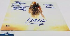 Steve-Downes-signed-Master-Chief-11X14-Metallic-photo-HALO-BAS-M62102