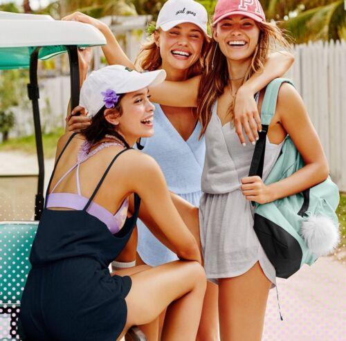 Up Cover rosa incrociato Xs Blue di Summer Pantaloncini Victoria's Daydream Secret pagliaccetto vnzO5xwSq