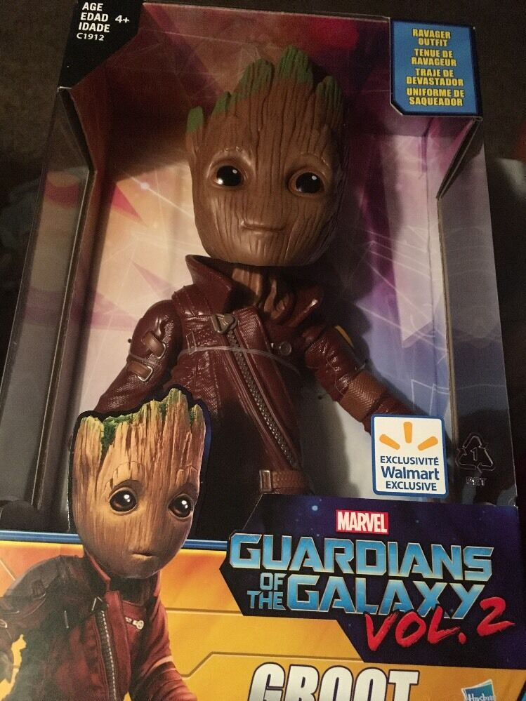 Guardians Of The Galaxy Vol. 2 Groot Ravager Outfit Walmart Exclusive NIB