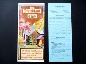 1949-Tremblant-Club-Travel-Brochure-Mont-Tremblant-Quebec-Canada