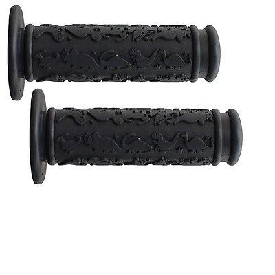 SUNLITE DINOSAUR COMFORT BLACK BICYCLE GRIPS
