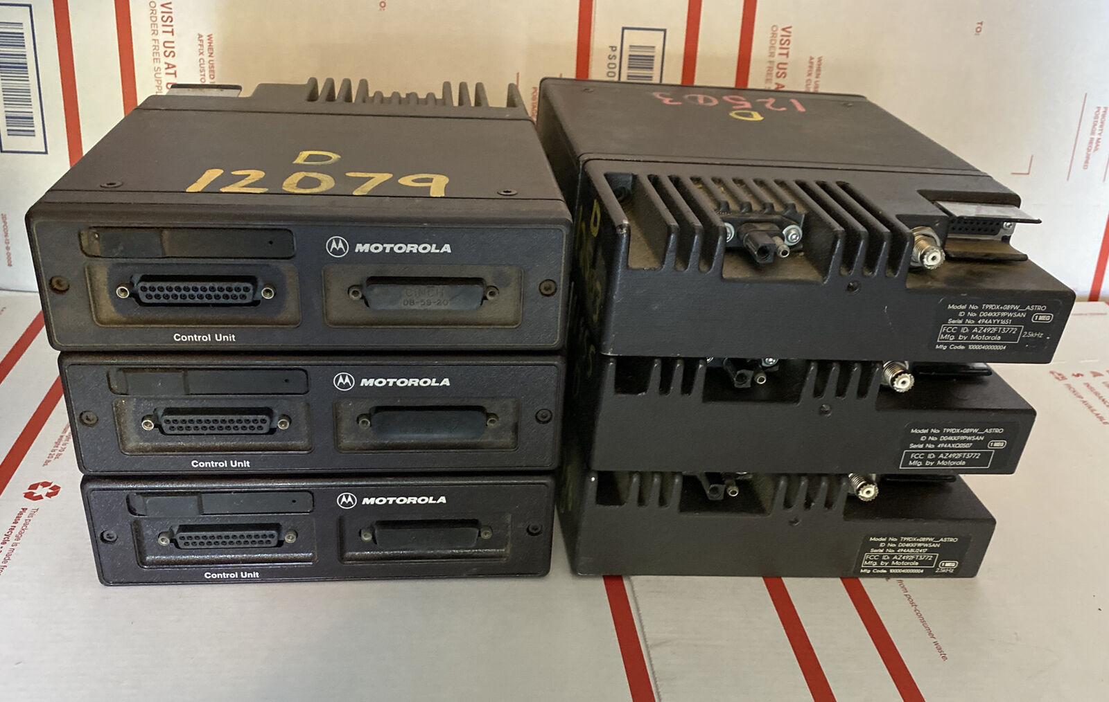Lot Of 6 Motorola Astro Spectra VHF W5 Remote Mount Drawer Unit IMBE P25 Digital. Buy it now for 300.00