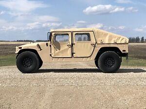 Genuine Humvee (HMMWV), Sask plated, low miles.
