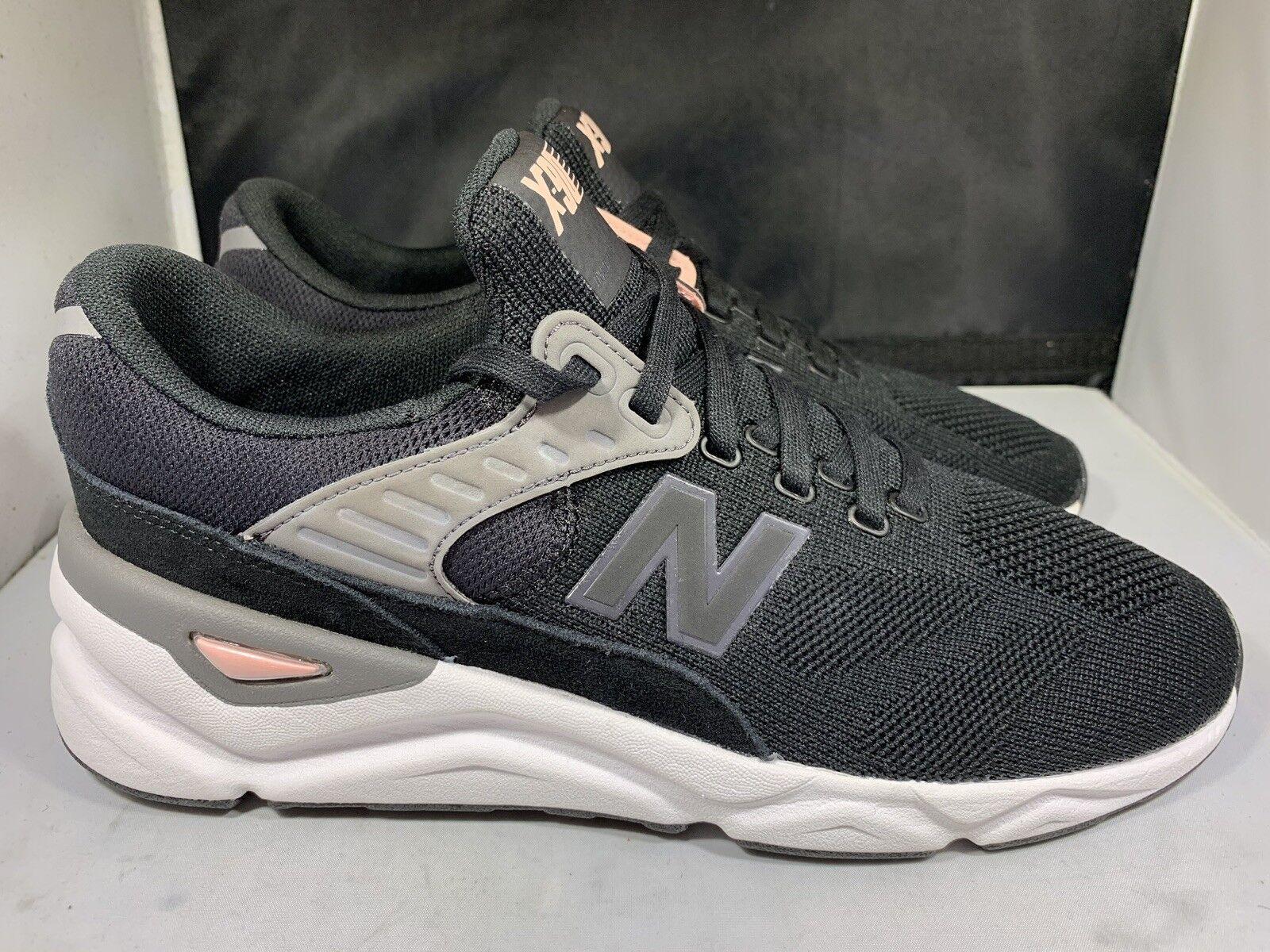 buy popular 1c8e2 5351a ... New Balance Men s MSX90HTC black white pink tennis shoes size size size  9.5d (NB8 ...
