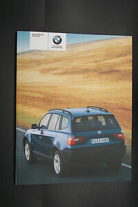 2004 bmw x3 owners manual parts new original e83 ebay rh ebay com 2004 bmw x3 repair manual 2004 bmw x3 owners manual