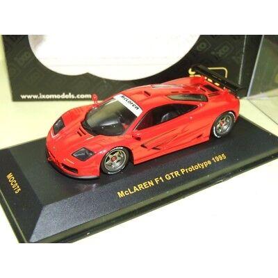 1995 McLaren F1 GTR Prototype red 1:43