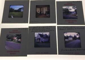 20-Vintage-35mm-Kodak-slides-Lot-1970-s-Houses-Buildings