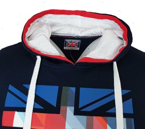 Team GB Hoodie Mens S M L XL 2XL Union Jack Great Britain England Football