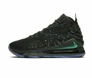 Nike-Lebron-XVII-Black-Size-9-US-Mens-Athletic-Shoes-Sneakers