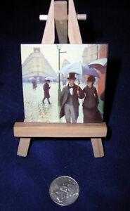 MUSEUM ART PRINT Paris a Rainy Day Gustave Caillebotte