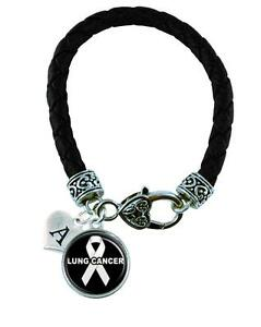 Necklace Custom Lung Cancer Awareness Silver Chain Choose MOM OR DAD only Jewelry