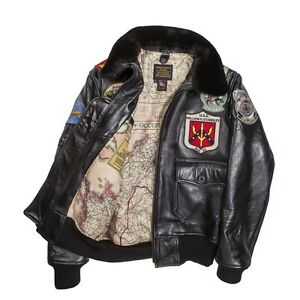 COCKPIT-USA-TOP-GUN-NAVY-G-1-LEATHER-JACKET-BROWN-MADE-IN-USA-G1-Z201036M