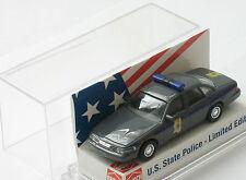 """Busch H0 49076 FORD CROWN VICTORIA Polizei """"Mississippi"""" Nr. 26 NEU OVP selten"""
