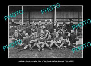 OLD-POSTCARD-SIZE-PHOTO-ADELAIDE-SA-SOUTH-ADELAIDE-FOOTBALL-CLUB-c1880