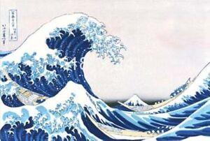 Japanese-Wave-Painting-Mount-Fuji-The-Wave-Hokusai-Woodcut-11x16-Print-repro