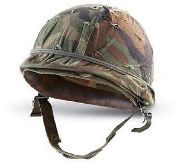 US Army M1 woodland camouflage Stahlhelm Helm Helmet