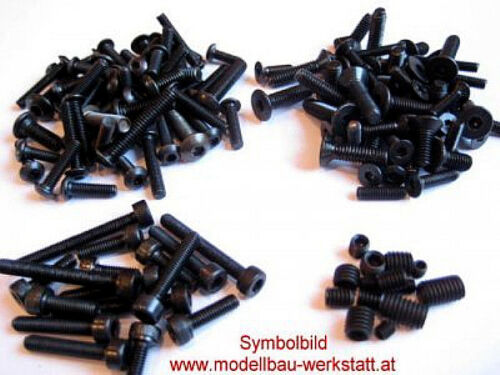 XXL Schrauben Set Stahl hochfest Tamiya DT-03 DT-03T DT-02 Chassis screw kit