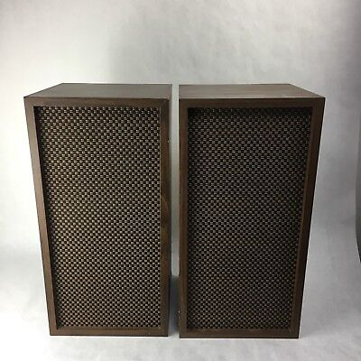 Vintage Extremely rare Heathkit AS-37A Speakers ( set of 2) Late 60's  Classic   eBay