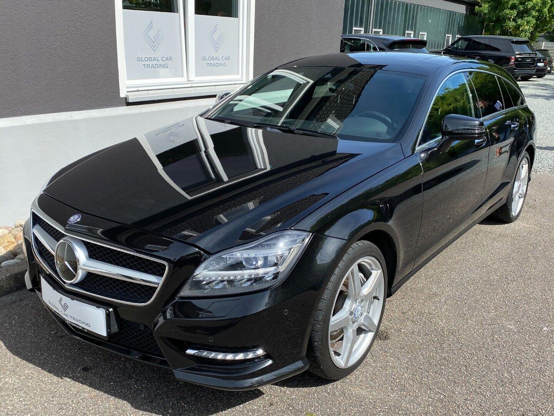 Mercedes CLS500 4,7 SB aut. 4-M BE 5d