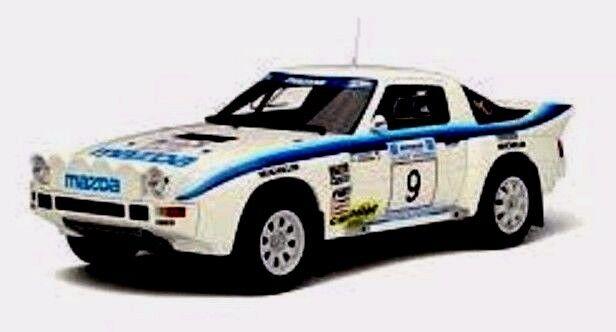Mazda RX7 Gr B-Rallye Acrópolis 1985 Otto Mobile OT226 1 18