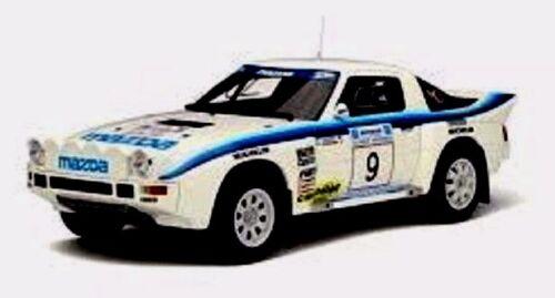 MAZDA RX7 Gr B - Rallye Acropolis 1985 OTTO MOBILE OT226 1/18