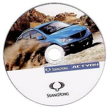 Ssangyong Actyon manuale officina workshop manual