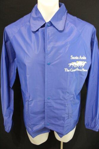 NWOT SANTA ANITA The Great Race Place PONCHO Vented Nylon RAINWEAR Jacket S