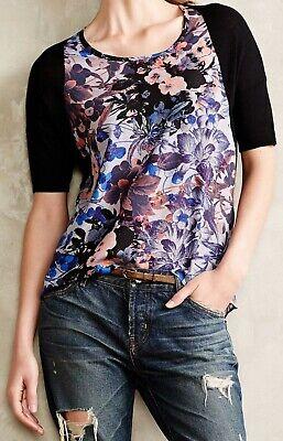 Large NW ANTHROPOLOGIE Tag Vanessa Virginia Ruffle-Back Sweater Dress Sz Medium