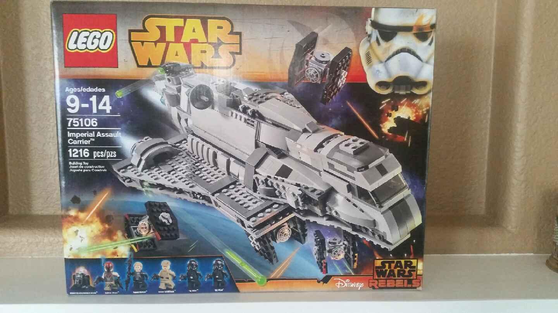 LEGO -NIB Star Wars Rebels  75106 - Imperial Assault Carrier