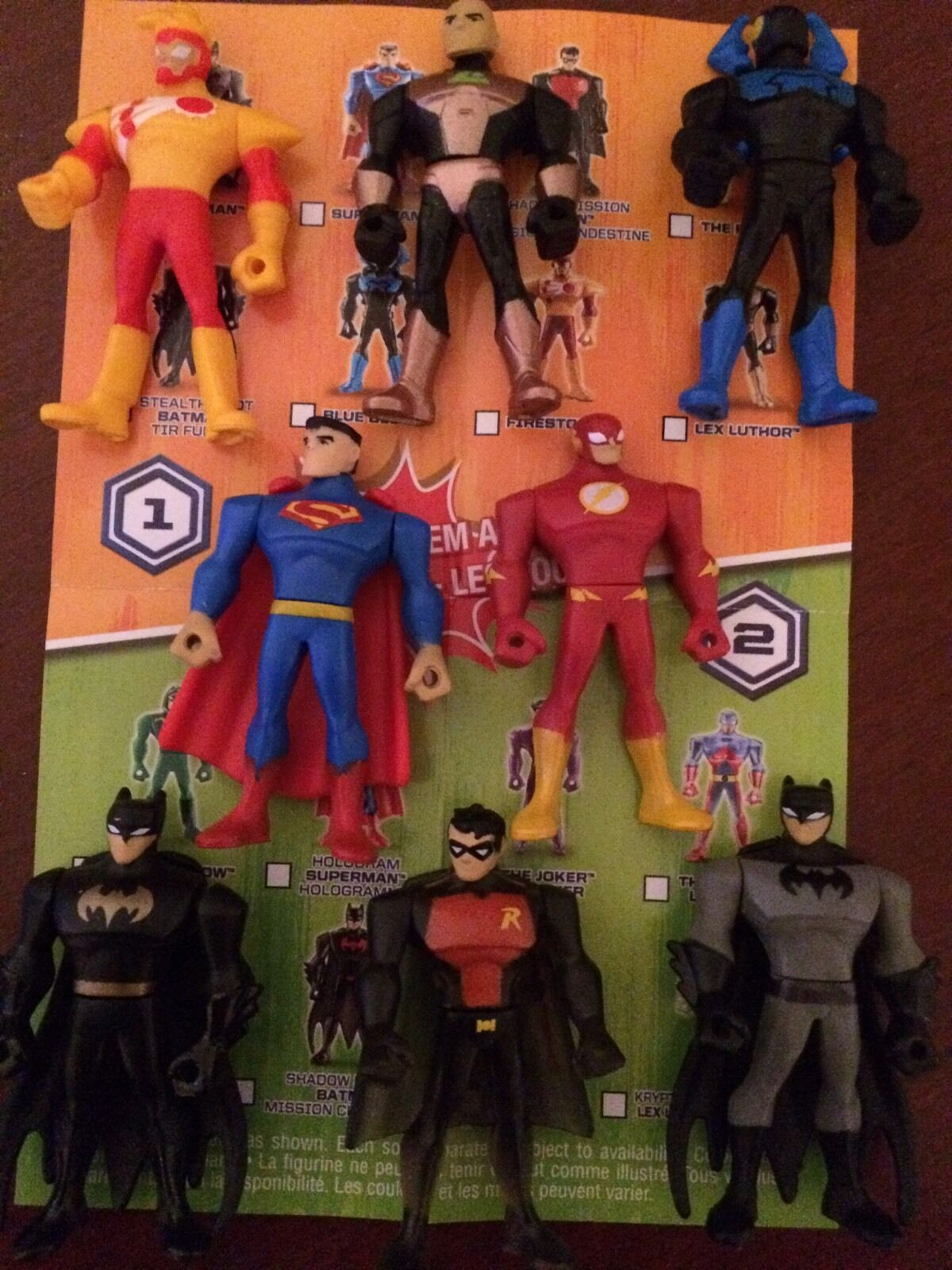 CARTOON NETWORK DC JUSTICE LEAGUE ACTION MIGHTY MINIS Complete Set Of 8 LOOSE