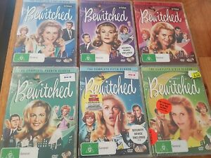 Bewitched-dvd-Seasons-1-2-3-4-5-and-6-Some-bnwt
