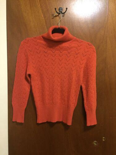 D&G DOLCE & GABBANA Wool Blend Turtleneck Knit Sw… - image 1