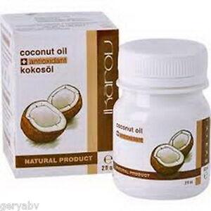 Ikarov-Pure-Coconut-oil-Essential-oil-60ml-Hair-Skin-Moisturizer-FAST-DELIVERY