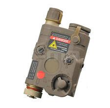 DE PEQ-15 White LED light Red laser IR Lenses Aiming Module mouse tail control