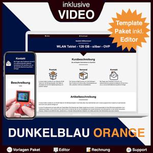 Ebay Template Auktionsvorlagen Shop Design Pixelsafari 1 4