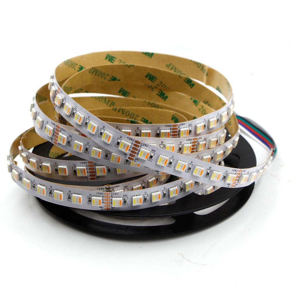 5m 300 LED strip light RGB CCT 5in1 5050 SMD waterproof xmas string tape lamp DC