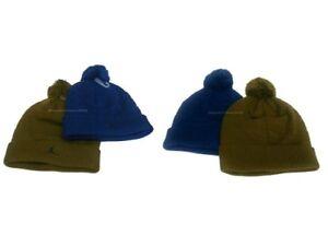 3a007d1fc5a550 Nike Jumpman Youth Pom Beanie Cuffed Size 8/20 Insignia Blue Militia ...