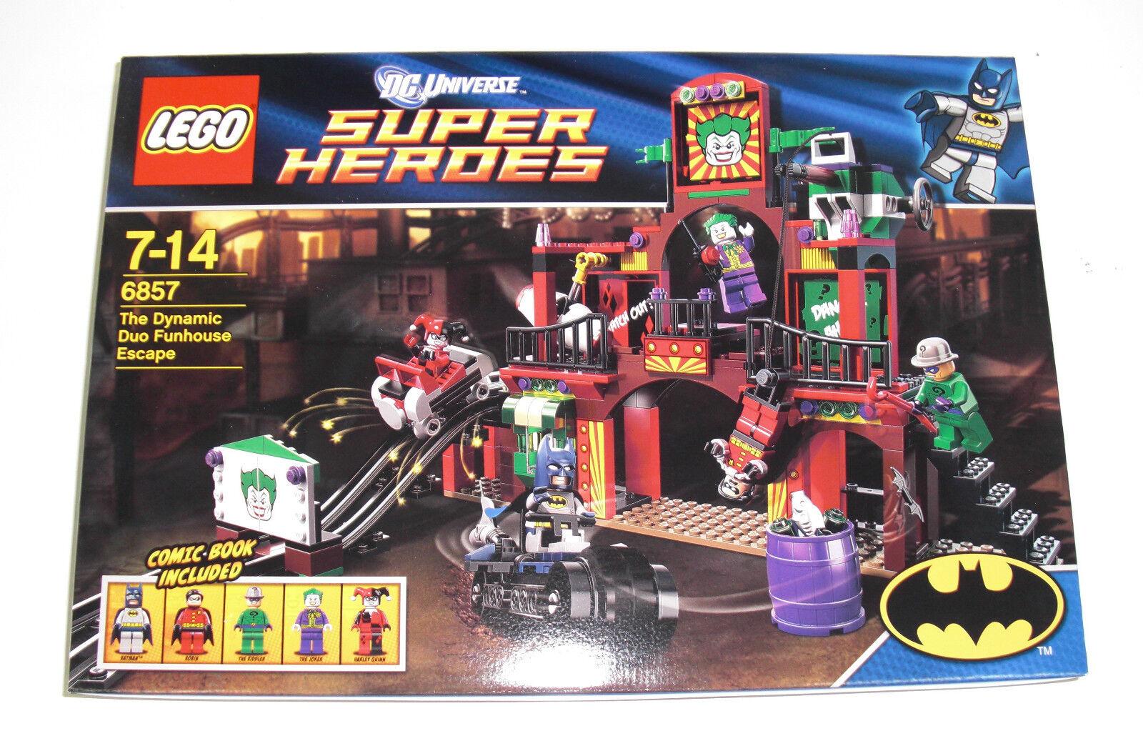 LEGO  Super Heroes 6857 - The Dynamic Duo divertimentohouse Escape - NEU DC Batuomo MISB  Sconto del 70%