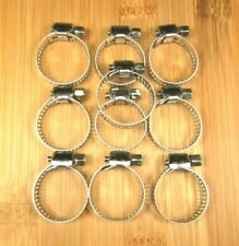 134.9 mm Hose OD Range 127 mm Ideal Tridon 300100500051 Stainless Steel 30010 Series 201//301 T-Bolt Hose Clamp 132 SAE Size Heavy Duty