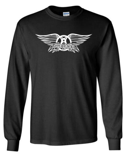 Aerosmith Wings LONG SLEEVE T-Shirt Classic Rock Band