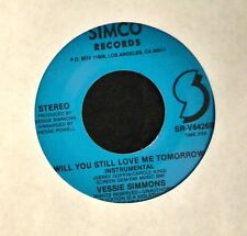 Vessie Simmons Simco 8426 Will You Still Love Me Tomorrow Both Sides