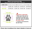 thumbnail 11 - 4Pcs-Protective-Waterproof-Dog-Cat-Rain-Boots-Silicone-Pet-Shoes-Adjustable-Paw