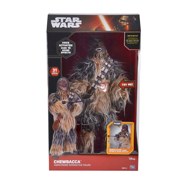 Star Wars Animatronic Interactive 17  Figure Chewbacca