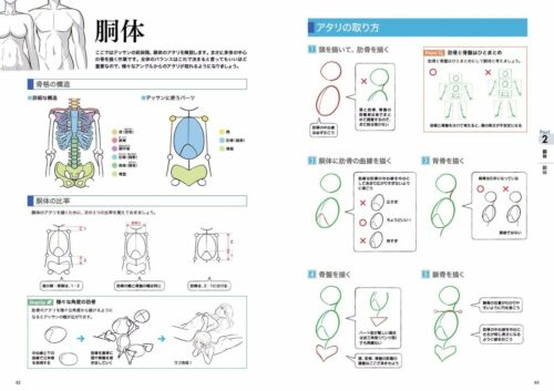 """/""""NEW/"""" How to Draw Manga Anime Body Technique Book Japan art Digital Drawing"""