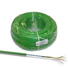 50m EIB-Busleitung Kabel grün J-Y(ST)Yh 2x2x0,8 KNX Fernmeldekabel Datenkabel