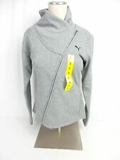Puma Ladies ASYM Jacket Medium Grey Heather US Size XL NWOT