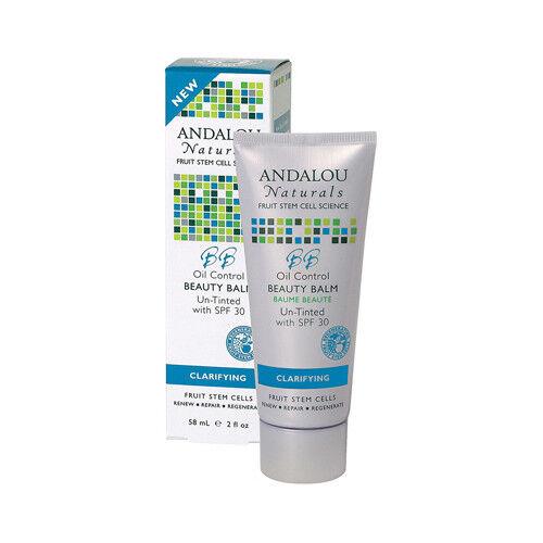 Andalou Naturals - Argan Stem Cell BB Benefit Balm Un-Tinted 30 SPF - 2 fl. oz. (pack of 6) Better Botanicals Better Botanicals  Moisturizer, 2 oz