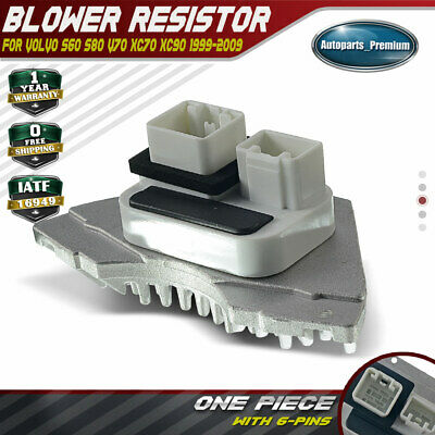 New Blower Motor Fan Resistor for Volvo S60 S80 V70 XC70 XC90 1999-2009 9171541